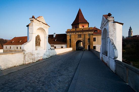 Budějovická brána Krumlov