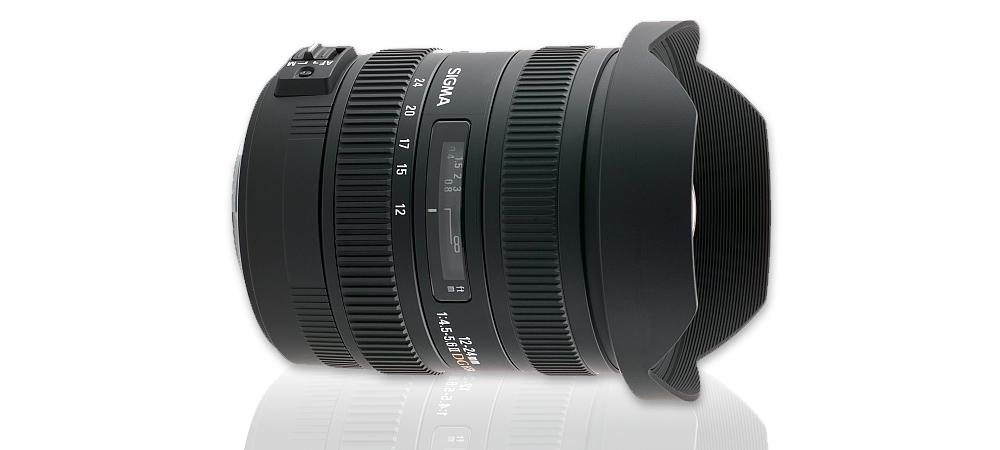Extrémně širokoúhlá Sigma 12-24 na Canonu 5D