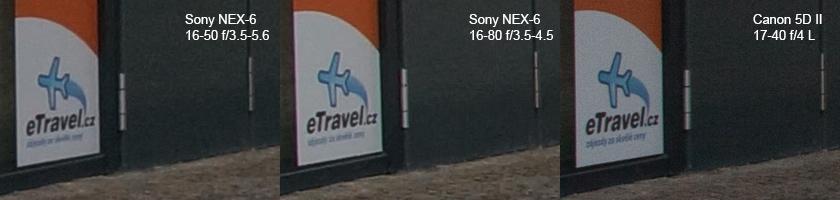 Sony NEX-6 vs. Canon 5D