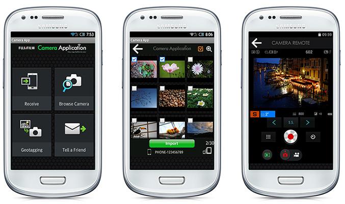 Fujifilm Android aplikace