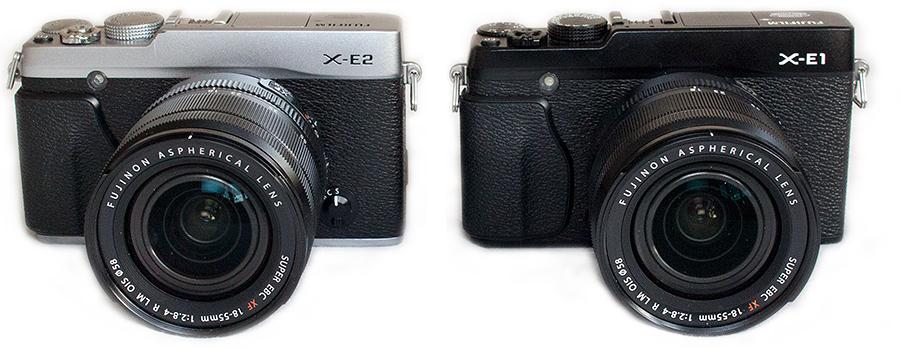 Fujifilm X-E2 vs. Fuji X-E1