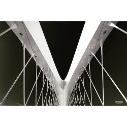 fotografie New bridge in Prague @archi_features @bnw_captures @insta.prague