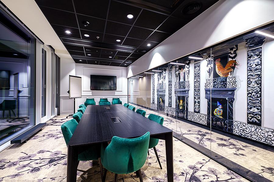 Zasedací místnost Business Link