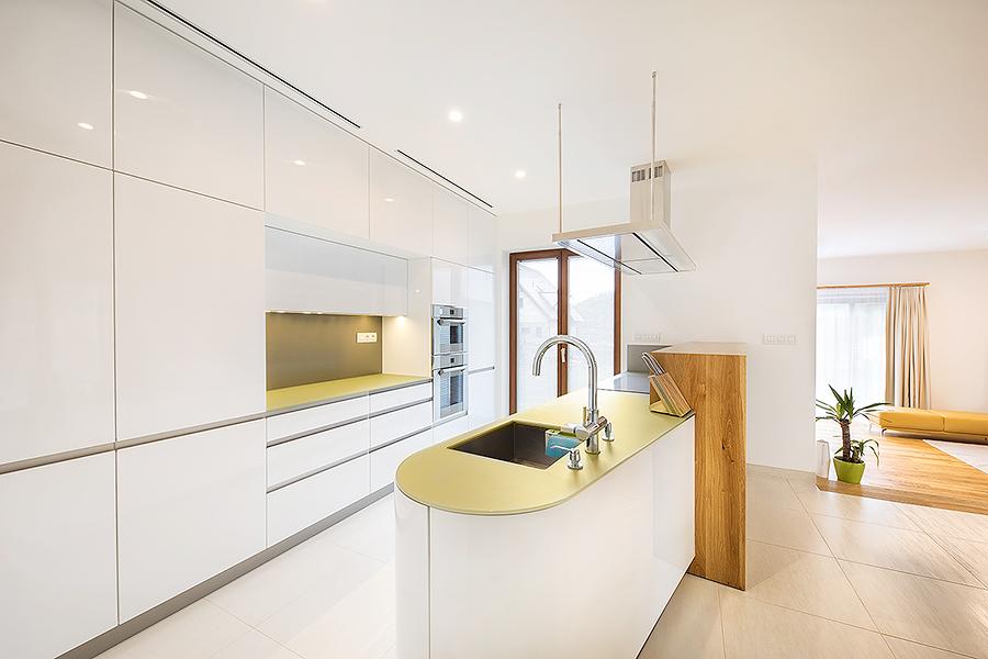 Kuchyň ve vile