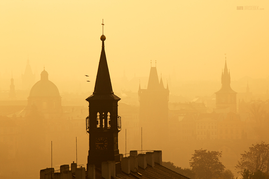 fotografie Pražské věže