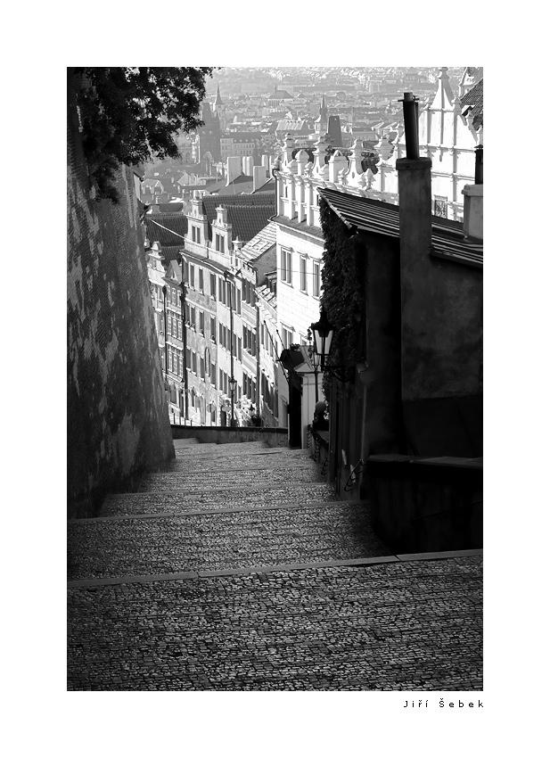 fotografie Zámecké schody