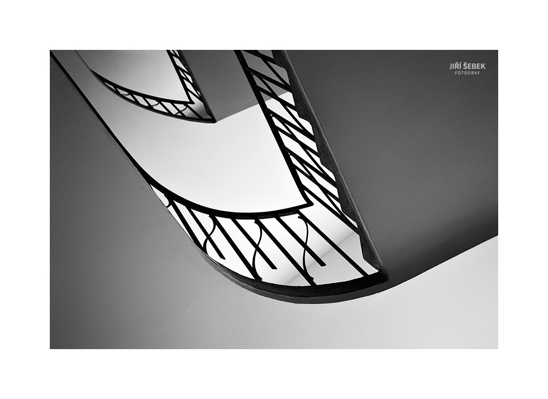 fotografie Linie schodiště