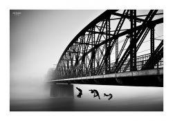 fotografie Železniční most Vyšehrad