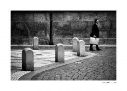 fotografie Pražský chodec