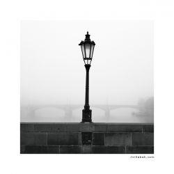 fotografie Lampa na Vltavě
