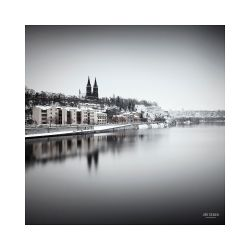 fotografie Vyšehrad v zimě