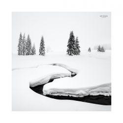 fotografie Zasněžená krajina Krušných hor