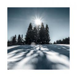 fotografie Zimní krajina Jizerských hor