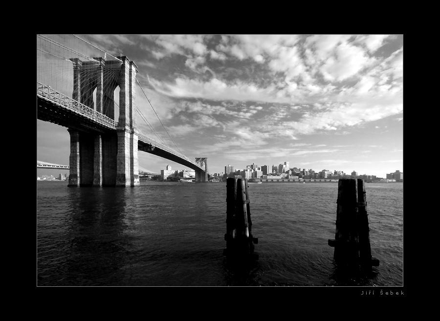 fotografie Pohled na Brooklyn