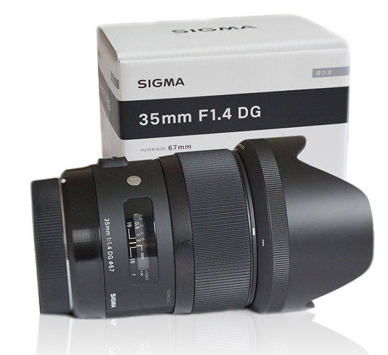Sigma 35 1.4