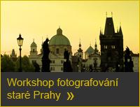 Workshop fotografování Prahy