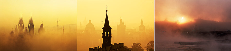 foto staré Prahy