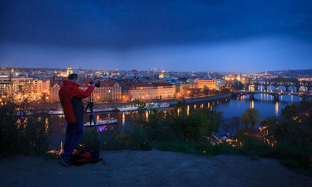 Noční fotografování Prahy